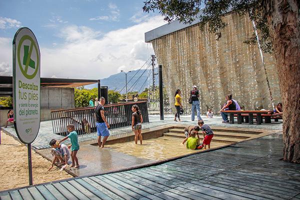 dicas de parques em Medellín