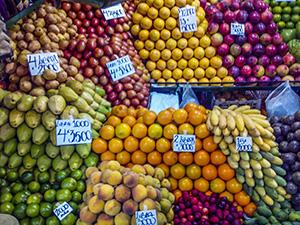 comida Colômbia