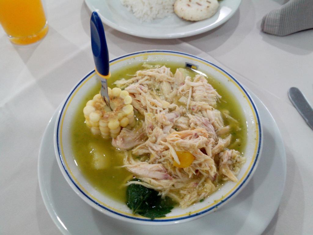 culinária na Colômbia