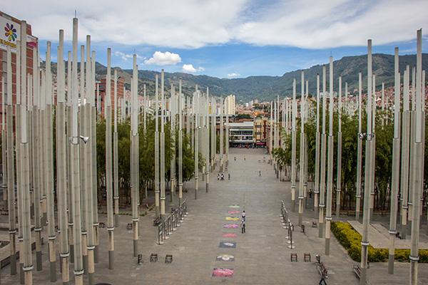 melhores parques em Medellín