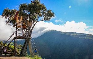 Baños, no Equador