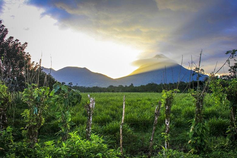 viagem à La Fortuna, na Costa Rica