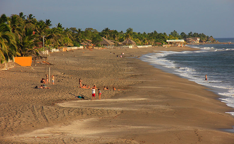 mochilão na Nicarágua - Las Peñitas