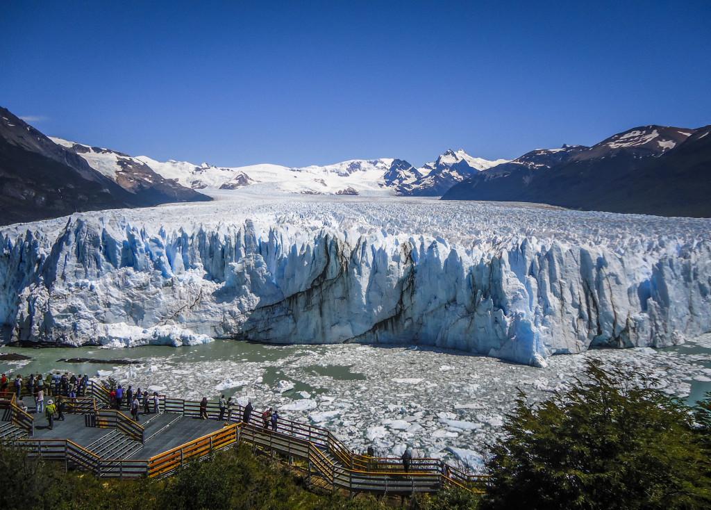 viagem pela América Latina - Perito Moreno