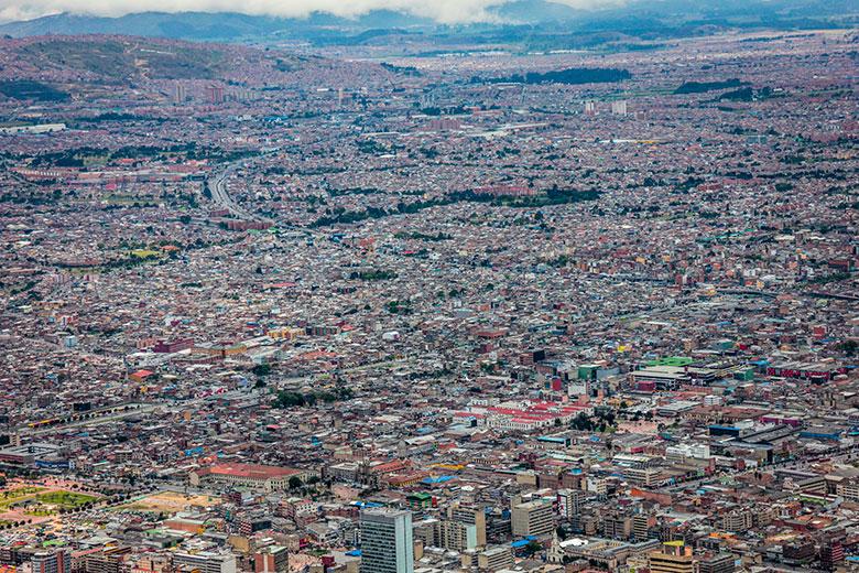 pontos turísticos em Bogotá - Cerro de Monserrate