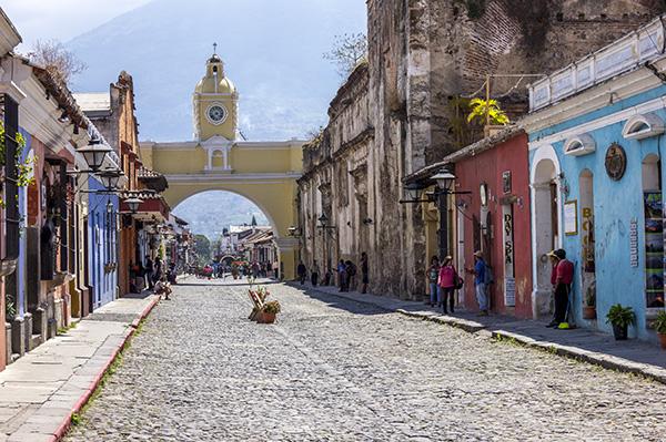 viajar pela América Central - antigua