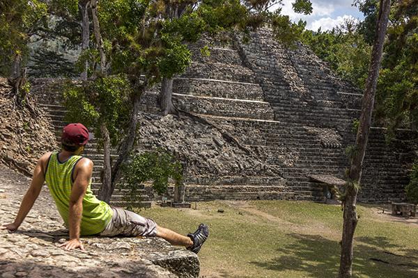 viagem pela América Central copan ruinas