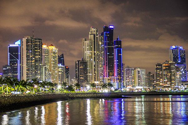 mochilão pela América Central - panama city