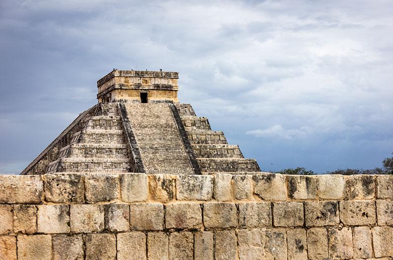 ruínas maias no México