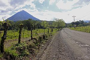 mochilão América Central - vulcão arenal