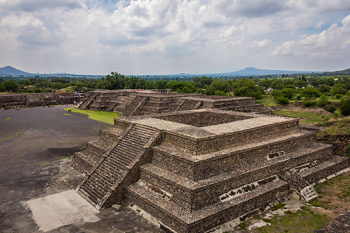 Pirâmides Teotihuacán