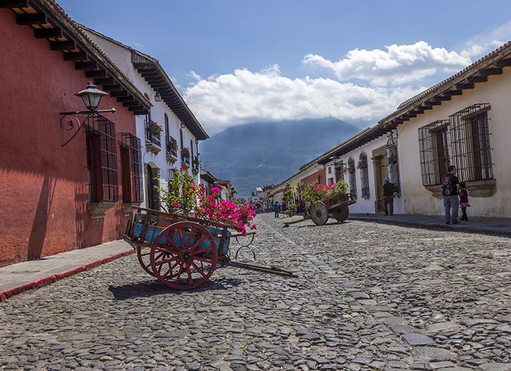 países baratos viajar guatemala