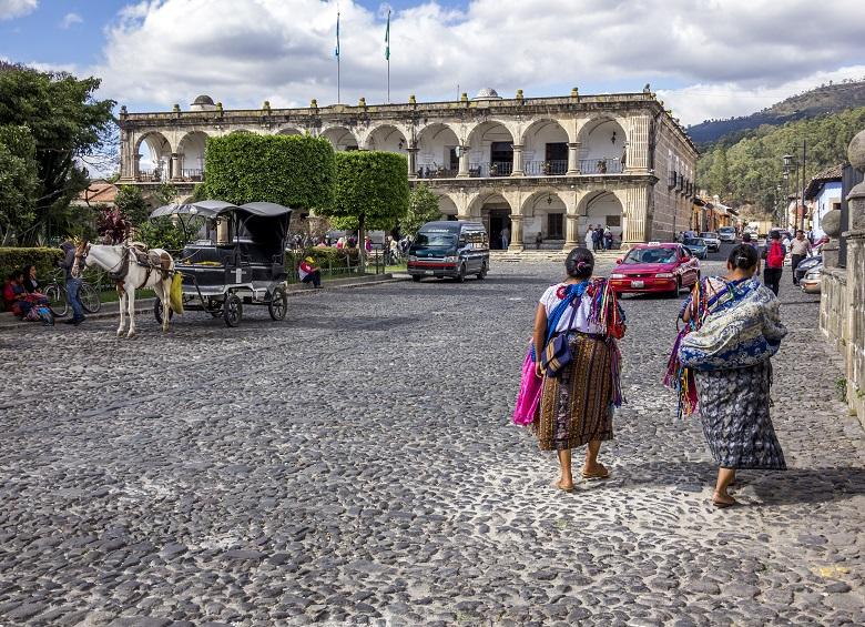Antigua, na Guatemala