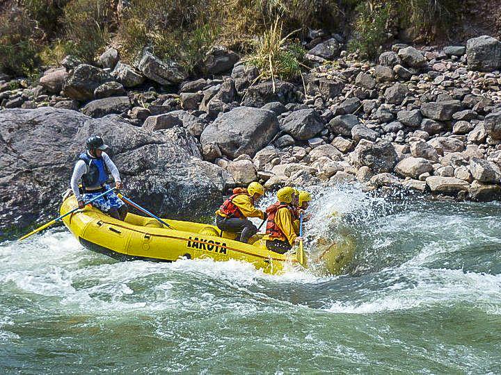 viagem à Bolívia- rafting