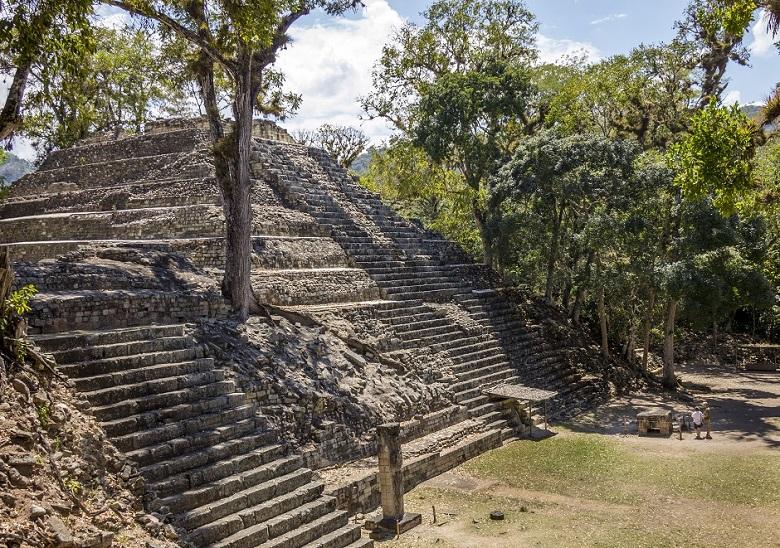 civilização Maia - Copán ruínas