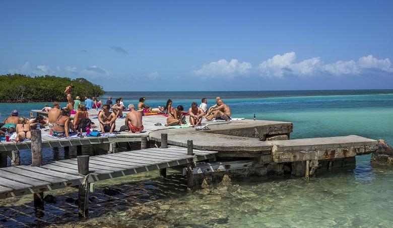 praias no Caribe
