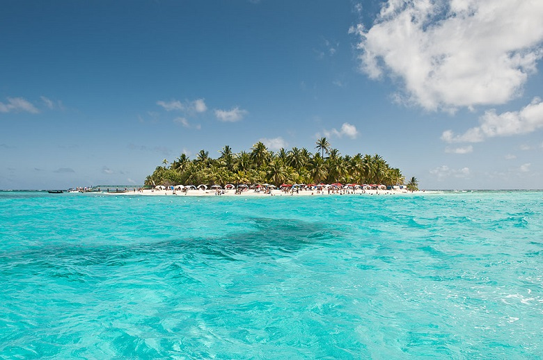 praias caribenhas - san anbres