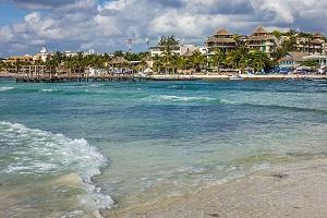 Playa del Carmen, no México