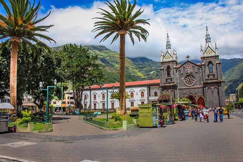 destinos baratos para viajar - Baños, Equador