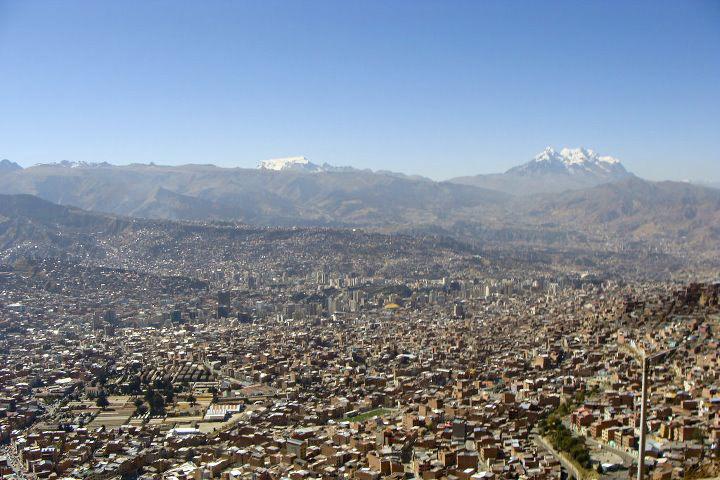 lugares baratos - La Paz, Bolívia